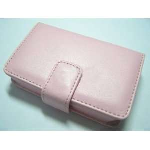 Book Leather Case pink for ipod Classic 80GB 160GB Electronics