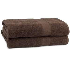 Mainstays 2 piece Bath Sheet Set   Chocolate