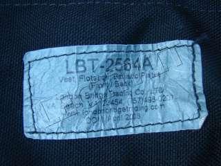 2564 Flotation Vest Black PFD Rig Navy SEAL VBSS Coast Guard