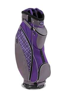 Datrek 2012 D Light Ladies Golf Cart Bag (Purple Plaid)
