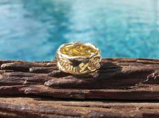 MAH JOR**DAVID YURMAN 18K Yellow Gold Cable Ring 6.5