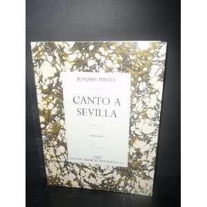 Canto a Sevilla (Para Piano) (9780711942592) Joaquin Turina Books
