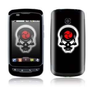 LG Phoenix / LG Thrive Decal Skin Sticker   Samurai Death