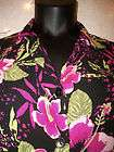 Kathie Lee Collection Blouse XL silky Chain belt look