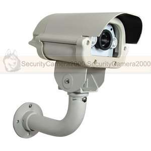 Outdoor Car License Plate Captured Sony CCD 650TVL HD Camera w/ White