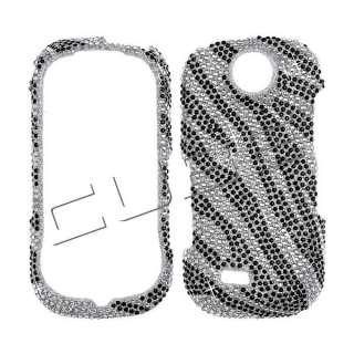 Zebra Bla BLING DIAMOND COVER CASE 4 Samsung Suede R710