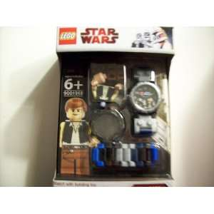 Lego Star Wars Han Solo Figure with Wristwatch Toys