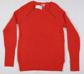 JCREW Waffle Cashmere zip sweater Small