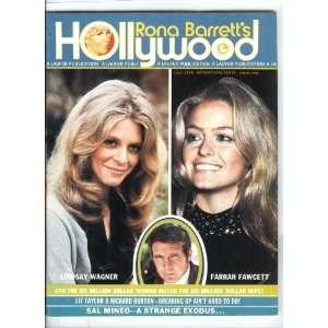 July 1976 Farrah Fawcett Lee Majors Lindsay Wagner Rona