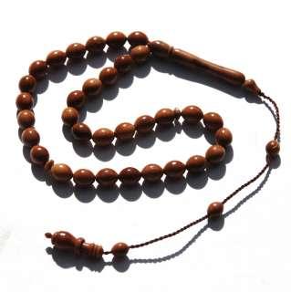 Hand Made Koka Kuka Seed Tasbih 33 Bead Muslim Prayer Beads Tesbih