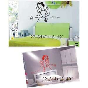 Large  Easy instant decoration wall sticker decor  Little