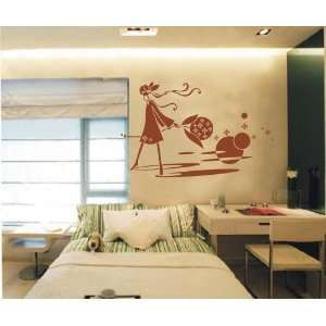 Large  easy Instant Decoration Wall Sticker Deco beauty