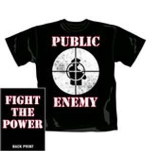 Public Enemy   Fight Power T Shirt noir (M) Toys & Games
