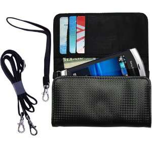 Black Purse Hand Bag Case for the Sony Ericsson Kurara