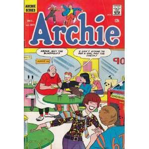 Comics   Archie #169 Comic Book (Dec 1966) Very Good