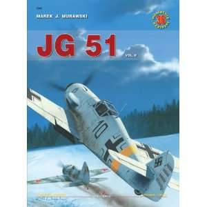 Jg 51 Vol II (Air Miniatures): M J Murawski: 9788361220312: