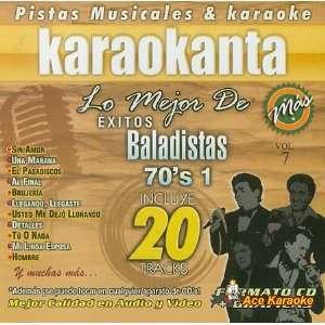 Karaokanta KAR 8007   Baladistas 70s 1   Spanish CDG