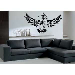 Parrot Bird with Spread Wings Tribal Animal Decor Wall