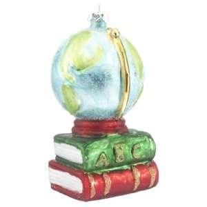 Personalized Globe Christmas Ornament