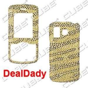 LG Rhythm ax585   Full Rhinestone ZEBRA Design Gold/Black