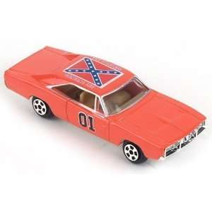 Dukes of Hazzard, 1969 Dodge Charger General Lee 164 Scale.  Toys