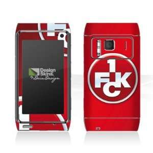 Design Skins for Nokia N 8   1. FCK Logo Design Folie