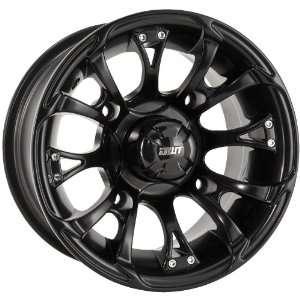 Douglas Wheel Nitro Wheels Center Caps   Black 952 107