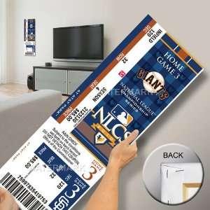San Francisco Giants 2010 NLCS Champions Mega Ticket