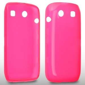 BLACKBERRY TORCH 9860 GEL CASE BY CELLAPOD CASES HOT PINK Electronics