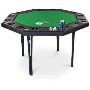 Rio Brands Folding Octagon Poker Table