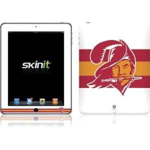 Tampa Bay Buccaneers Retro Logo Flag skin for Apple iPad