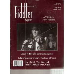 Vol. 8, No. 3, A Tribute to John Hartford: Mary Larsen Holland: Books