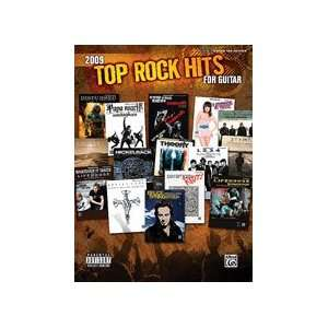 2009 Top Rock Hits for Guitar Guitar Mixed Folio, Book
