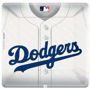 Lets Party By Amscan Los Angeles Dodgers Baseball Square