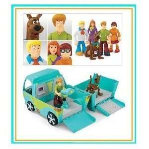 Scooby Doo 5 pack Figures & Mystery Machine Toys & Games