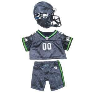 Build A Bear Workshop Seattle Seahawks Uniform 3 pc. Toys & Games