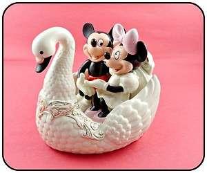Lenox Disney Romance Under the Stars with Mickey Mouse Minnie Swan