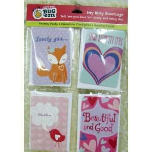 Hallmark Valentines VKC1049 Itty Bitty Greeting Cards