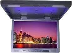 Thin Overhead Car/Truck/SUV Video Monitor IR Transmitter Gray