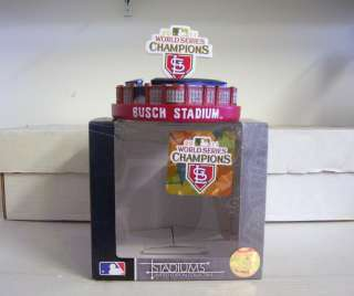 Louis Cardinals WORLD SERIES CHAMPIONS Replica Busch Stadium from 2011
