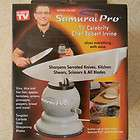 HOME SMART SAMURAI PRO KNIFE SHARPENER~NWOT~TV CELEBRITY CHEF ROBERT