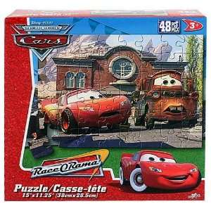 Disney Cars RaceORama 48 PCS Puzzle   [McQueen and Mater