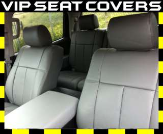 2007 2012 Toyota Tundra Double Cab Leather Seat Covers