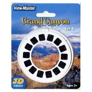 CANYON National Park Set #1   View Master 3D 3 Reel Set Toys & Games
