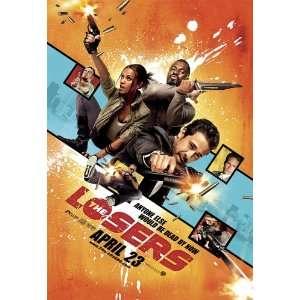 2010) Style I  (Jeffrey Dean Morgan)(Chris Evans)(Zoe Saldana)(Jason