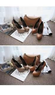 Luxury Womens Super High Heel Shoes Pump Platform 3 Colors ALL SIZES