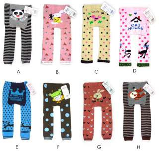 LOT 10 Cute Cartoon Animal Baby Infant Toddler Boy Girl Leggings Pants