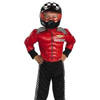Medium Childs Deluxe Race Car Driver Costume (For Ages 7