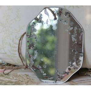 Shabby Cottage Chic Antique Wall Mirror 440