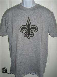 New Orleans SAINTS Throwback Logo NFL T Shirt X Large